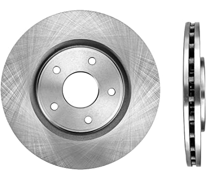 2013 For Dodge Grand Caravan Front Set Note: for 330mm Front Set /& 328mm Rear Set Disc; Dual Piston; w//HD Brake with 2 Years Manufacturer Warranty Stirling Both Left and Right Semi Metallic Brake Pads