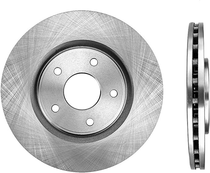 Semi Metallic Brake Pads Note: for 330mm Front Set /& 328mm Rear Set Disc; Dual Piston; w//HD Brake Both Left and Right Stirling 2017 For Dodge Grand Caravan Front Set with 2 Years Manufacturer Warranty