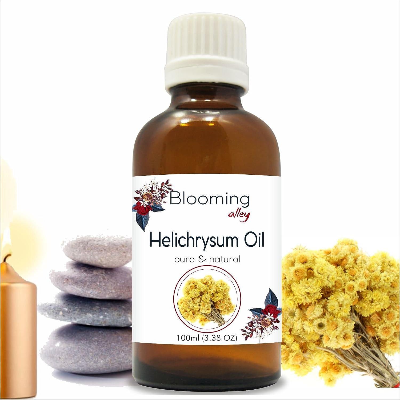 納得できる割引 Helichyrsum Blooming Oil Oil (Helichrysum Italicum) Essential Oil 100 ml or ml 3.38 Fl Oz by Blooming Alley 100ML B07DW92LFP, 三郷市:f01ffc26 --- a0267596.xsph.ru