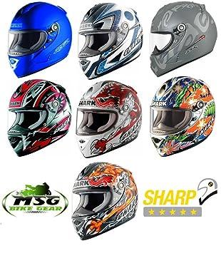 5643e1bd SHARK RSR2 MOTORCYCLE MOTOGP RACE REPLICA HELMET XS or XL RRP ??449.99 SALE  new: Amazon.co.uk: Car & Motorbike