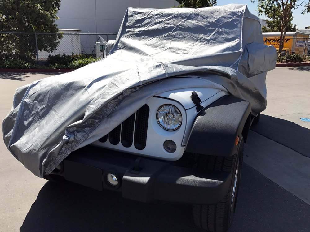 Stormshield Custom Fit 2004-2019 Jeep Wrangler Unlimited JK JL 4 Door SUV Car Cover Heavy Duty All Weatherproof Covers CarsCover 709870732034