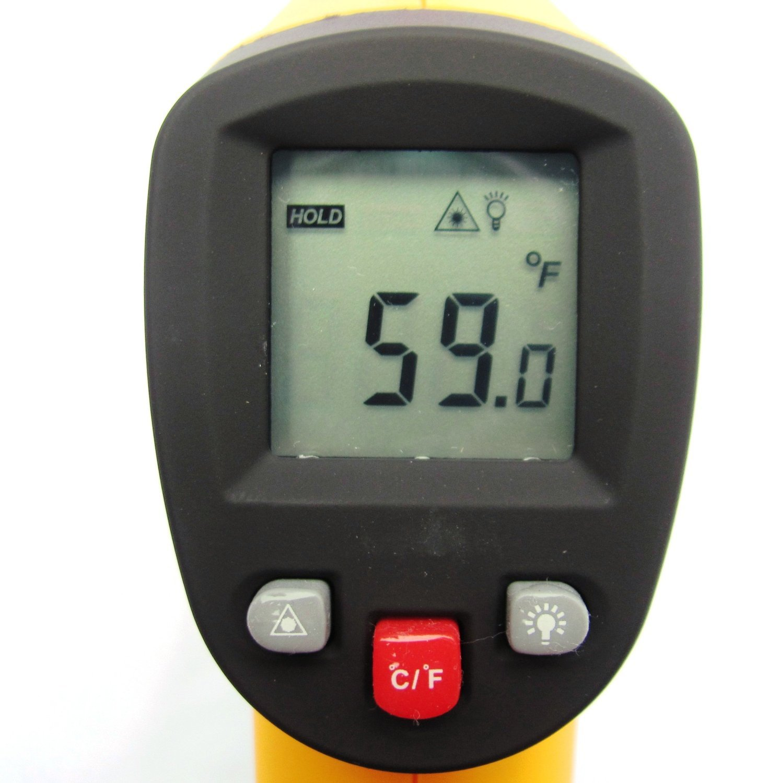 Xcellent Global Term/ómetro Medidor Infrarrojo L/áser IR Digital Temperatura LCD S-HG021