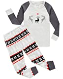 Amazon Price History for:Boys And Girls Christmas Pajamas Cotton Reindeer Toddler Clothes Kids Pjs Sleepwear