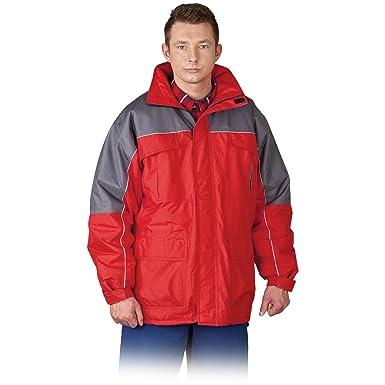 Arbeitsjacke Winterjacke Arbeitskleidung Jacke Orange Gr XXXL M