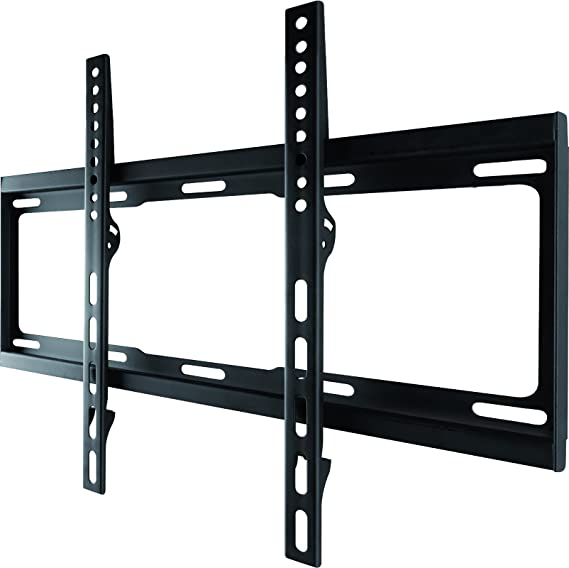 Amazon Com One For All Tv Bracket Fixed Wall Mount Screen Size 32 55 Inch For All Types Of Tvs Led Lcd Plasma Max Weight 100kg Vesa 100x100 To