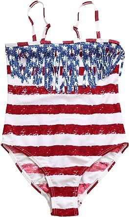 NEW 2 pc STARS /& STRIPES AMERICAN SWIMSUIT USA FLAG BIKINI - size SMALL