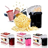 Great Value Company 1200 Watt Popcorn Maker with Butter Melting Container - Black