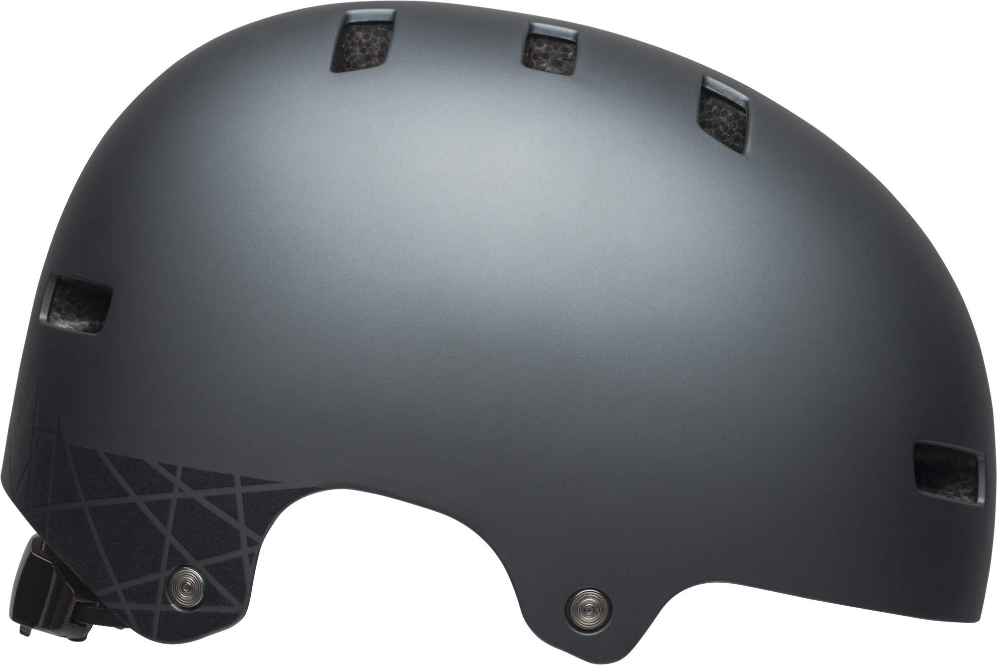 Bell Local Adult BMX & Skate Helmet (Covert Matte Titanium/Black Reflective (2019), Small)