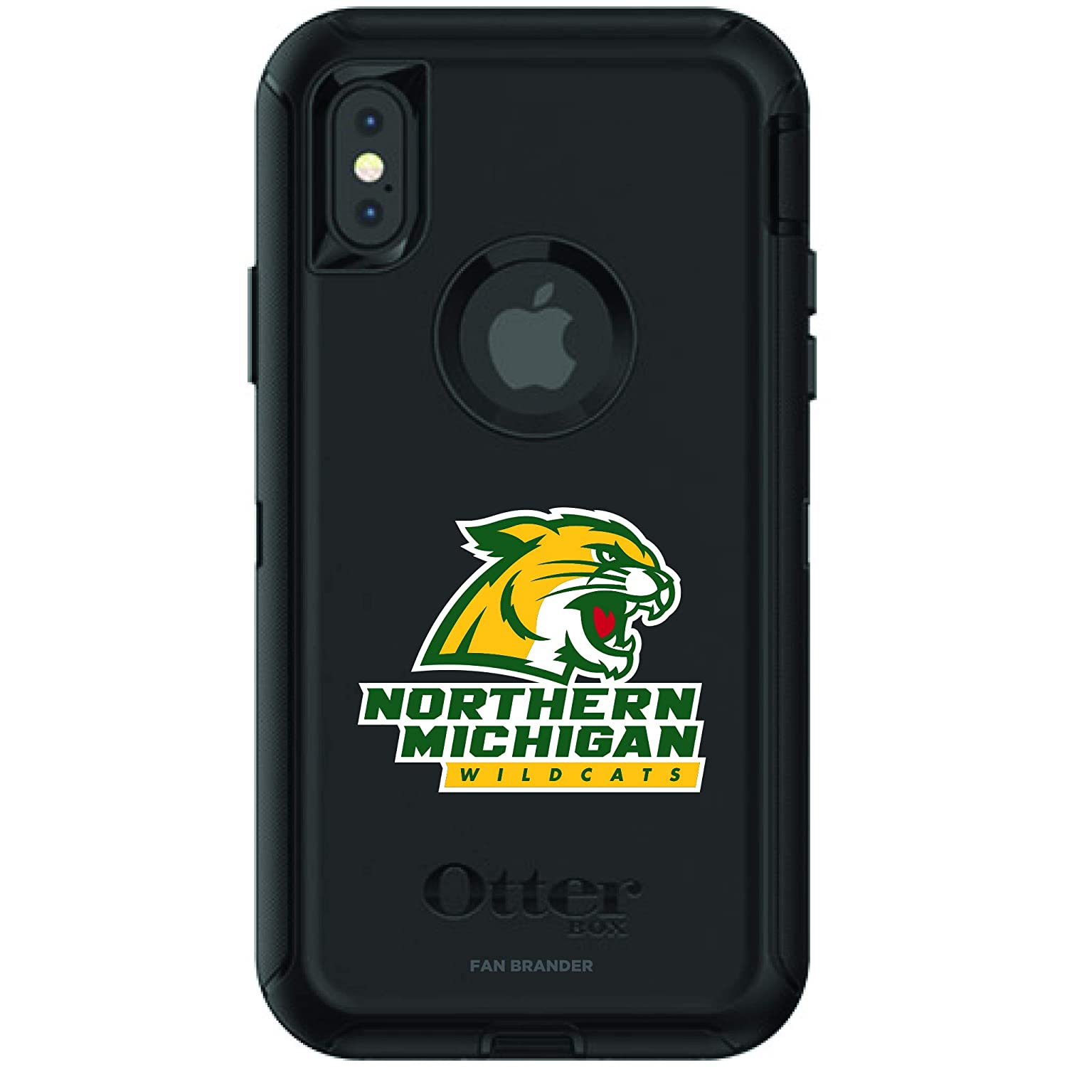 Amazon.com: Fan Brander NCAA - Funda para iPhone X y iPhone ...