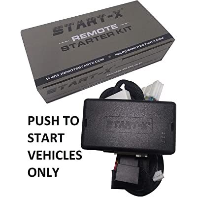 Start-X Plug N Play Remote Start Starter for Select Push to Start Toyota's|| Rav4 2013-2020 Avalon 2013-2020, Camry 2012-2020, Corolla 2014-2020 || Push to Start Only || Lock 3X to Remote Start: Car Electronics