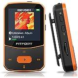 Reproductor MP3 Bluetooth 5.0 - MP3 Bluetooth Running, Sonido de Gama Alta, Radio FM, Grabación de Voz, E-Book…