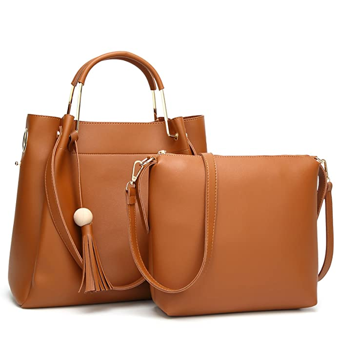 SUPER DEAL: STYLISH AND QUALITY MADE WOMEN'S 2 IN 1 HANDBAG (11 COLORS!)