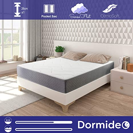 DORMIDEO Metropolitan - Colchón de muelles ensacados 150x190