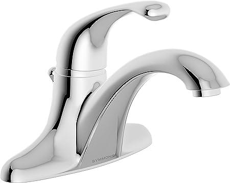 Symmons S-6612 Unity Single handle centerset lavatory faucet, 2.2 GPM Flow  Rate, Polished Chrome