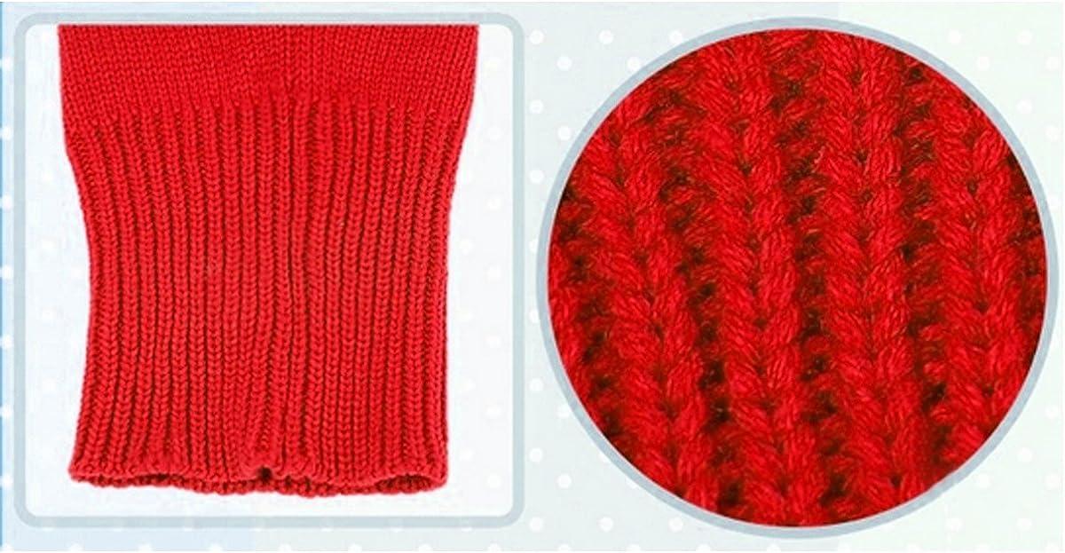 1 Pcs Winter Baby Girls Boys Warm Woolen Hood Scarf Hats Earflap Knitted Cap