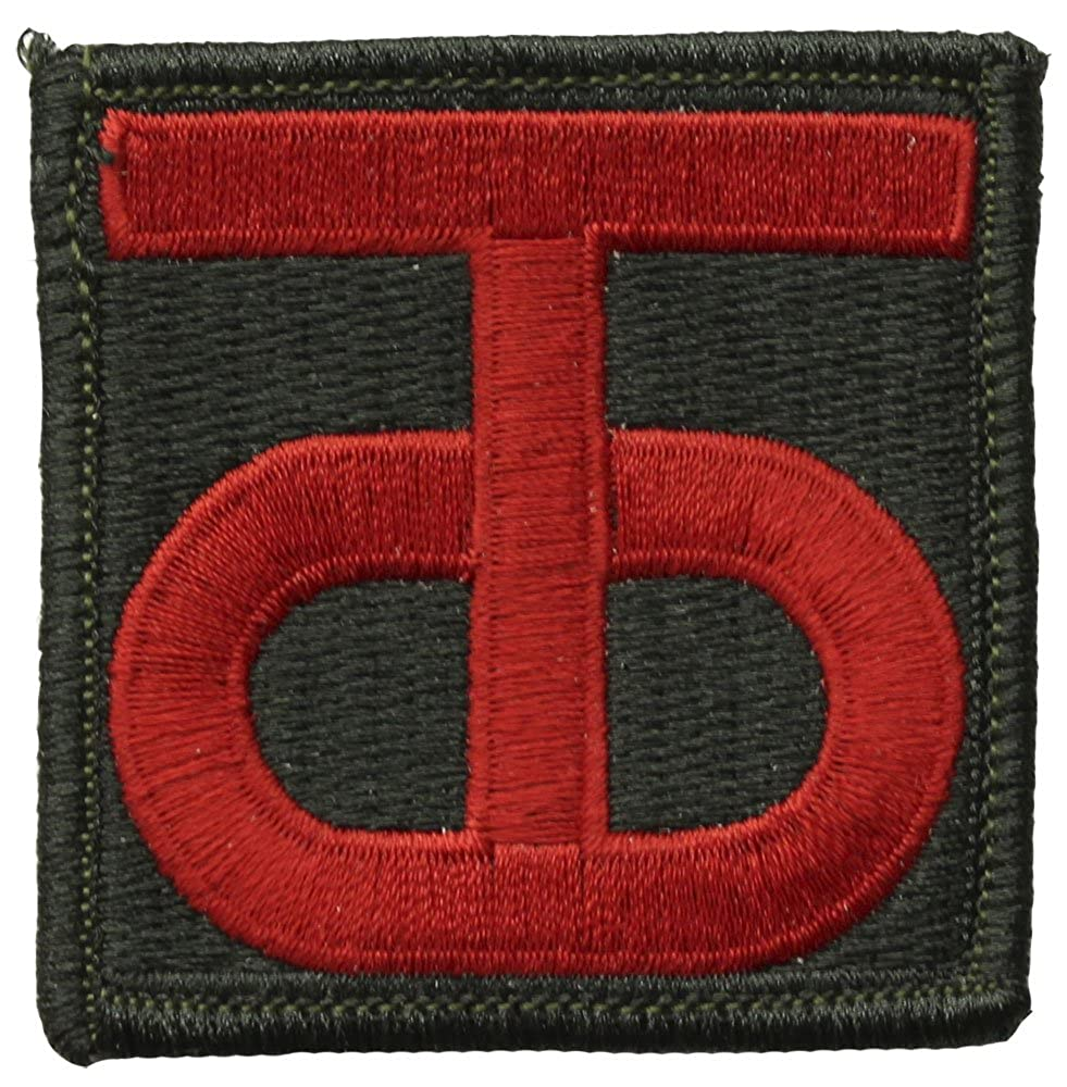 90th Infantry Division Patch Full Color