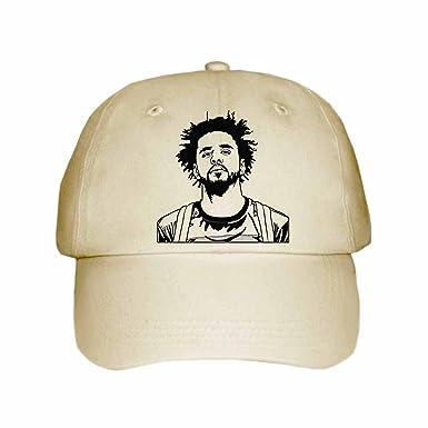 2f63f2a543492 J. Cole Jcole dreamville Cap Hat (Unisex) (Khaki) at Amazon Men s ...