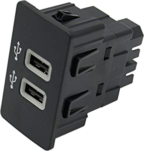 HC3Z-19A387-B USB interface module, suitable for Ford Apple Carplay SYNC3, USB interface hub USB media hub blue