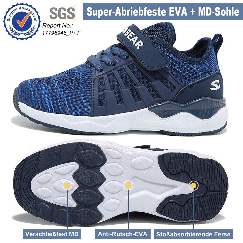 4e21eb154a95c Unisex-Ni ñ os Zapatillas De Correr para Chico Zapatos De Deporte Ni ñ o y  Ni ñ a Calzado Infantil Transpirable ...