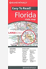 Easy To Read: Florida State Map (Rand McNally Easy to Read!) Map