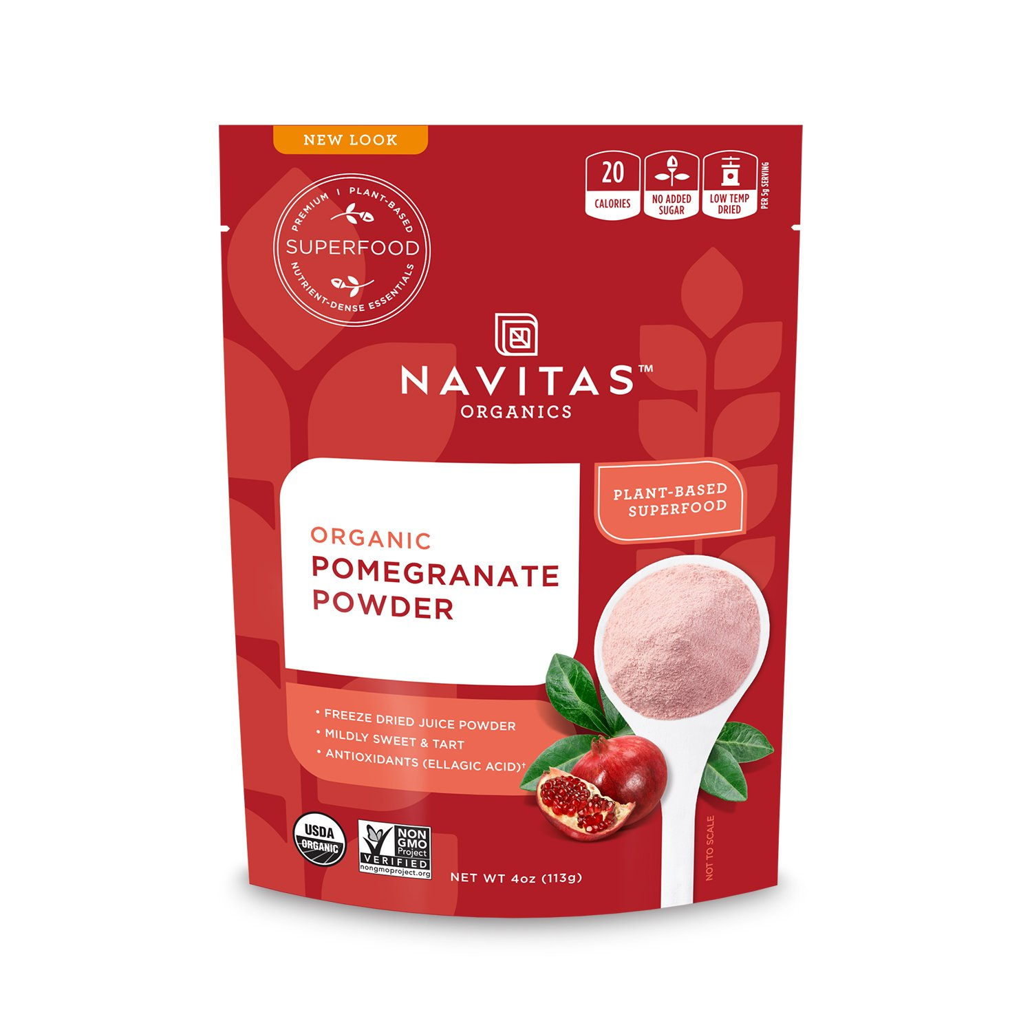 Navitas Organics Pomegranate Powder, 4 Ounce