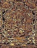 The Wheel of Life (Tibetan Buddhist Bhavachakra) - Tibetan Thangka Painting