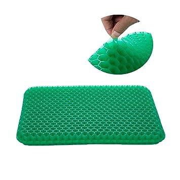 Amazon.com: Cojín de gel para silla de oficina, cómodo cojín ...