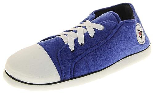 08245b5fe2fd0c Unisex-Erwachsene Dunlop Sports Sneaker Hausschuhe Blau EU 46-47 (XL)