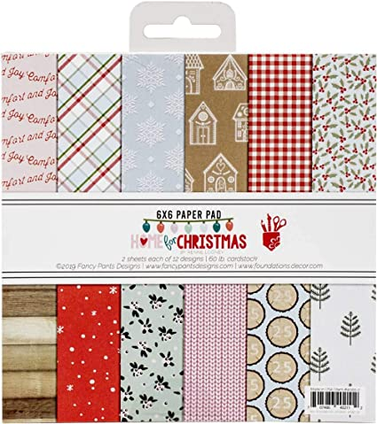 "12 Designs//2 Each Carta Bella Double-sided Paper Pad 6/""x6/"" 24//pkg-christmas"
