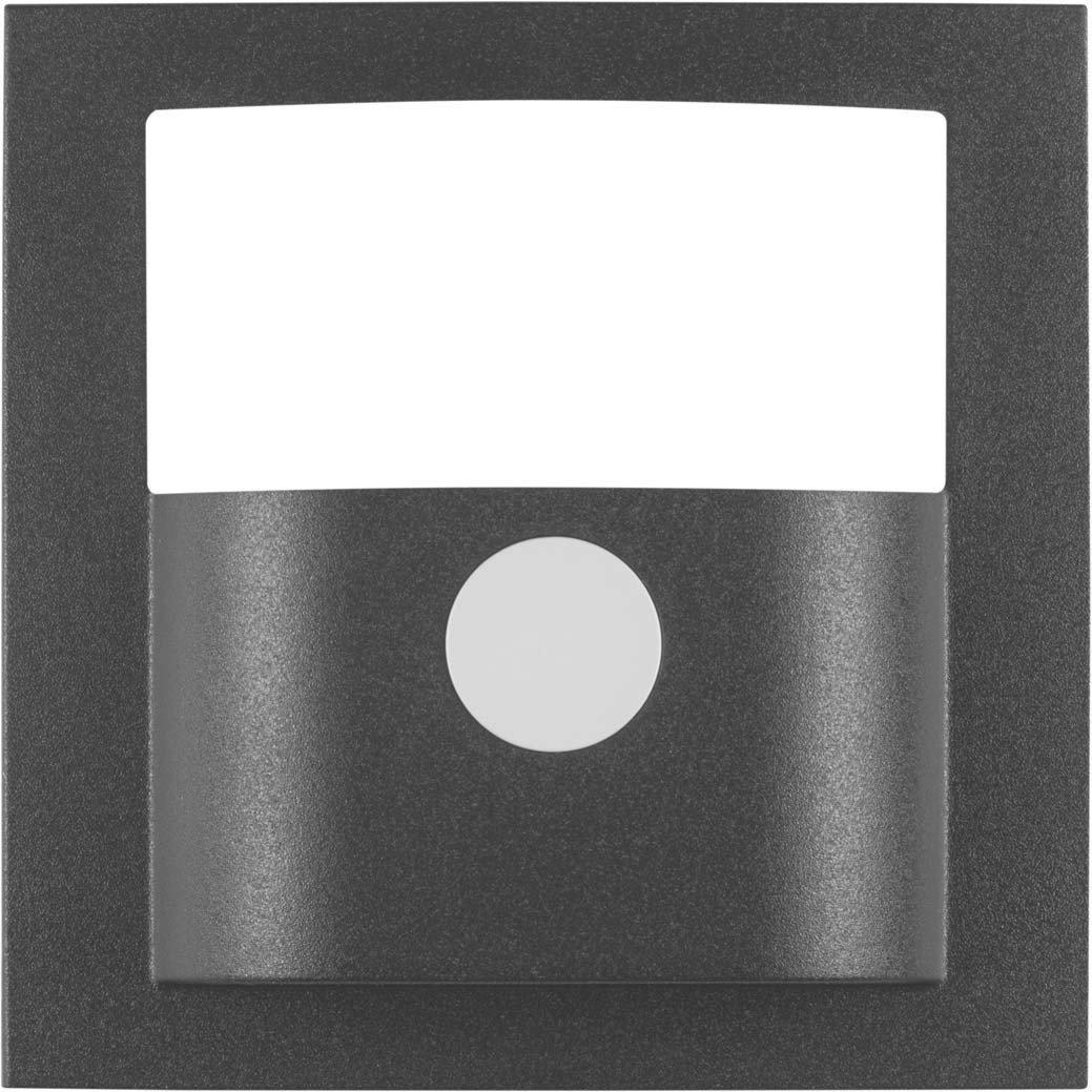 Hager 11901606 - Tapa detector movimiento, s/b, antracita: Amazon.es: Bricolaje y herramientas