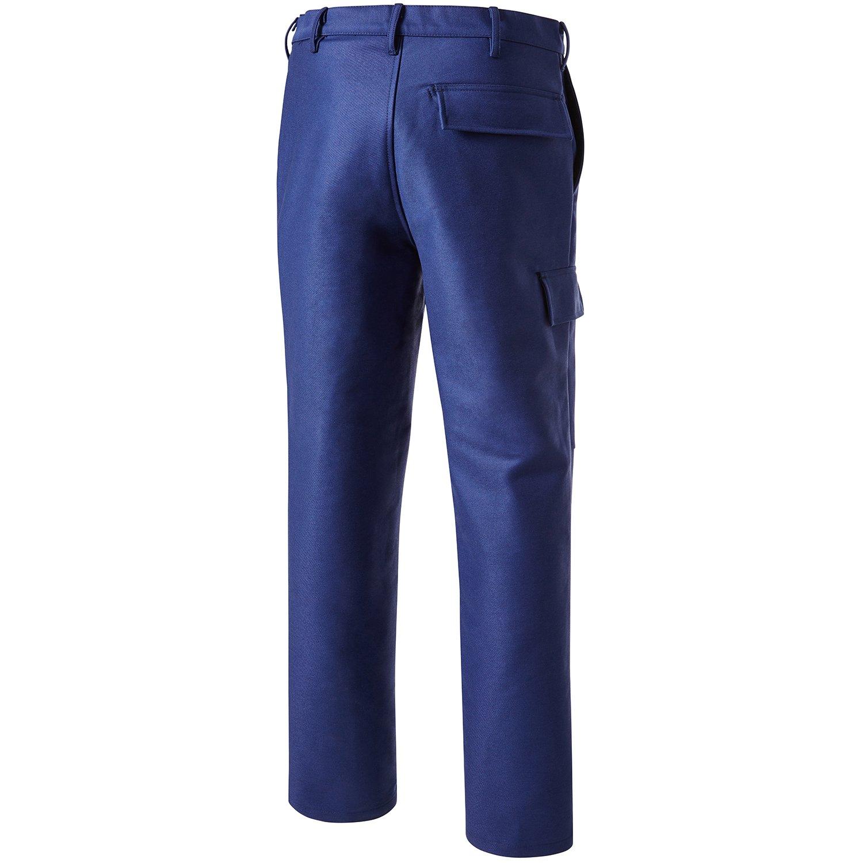 PIONIER 2794 - Soldador 50 Protección pantalones de trabajo, color azul marino, talla 50: Amazon.es: Bricolaje y herramientas