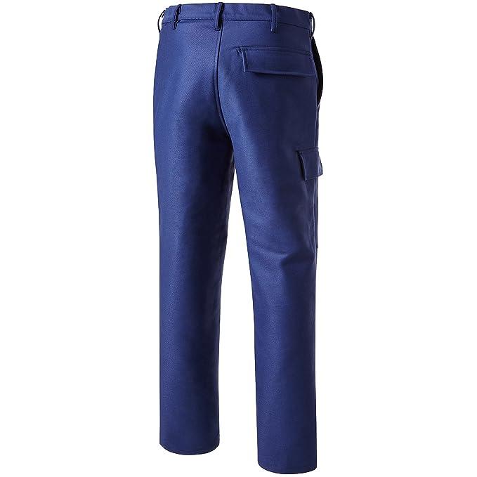 PIONIER 2794 - 62 soldador protección pantalones de trabajo, color azul marino, talla 62: Amazon.es: Bricolaje y herramientas