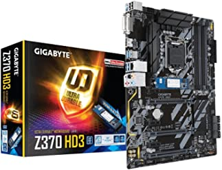 GIGABYTE Intel 1151 Sockel Z370 Chipsatz XP SLI D4 ATX Motherboard - Schwarz