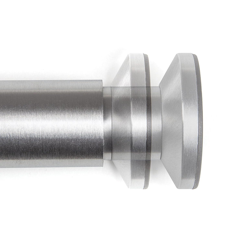 H/öhe 4er Set M/öbelf/ü/ße verstellbar Schrankbeine Chrom poliert belastbar bis 250 Kg 80 mm von SO-TECH