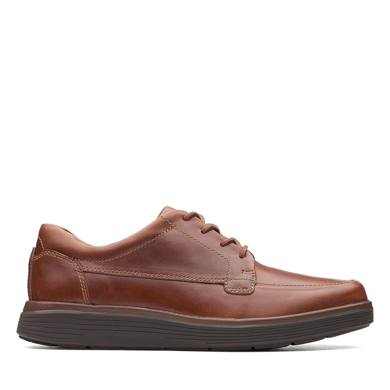 Marron Clarks des Nations Unies Demeure Facilité Pour des hommes Décontracté en Cuir Lacets Chaussures