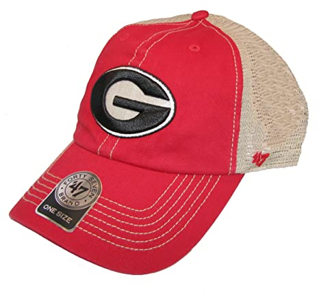 be19bfbb206 Image Unavailable. Image not available for. Color   47 NCAA Georgia Bulldogs  Mens Trawler Clean Up Adjustable Hattrawler Clean Up Adjustable Hat