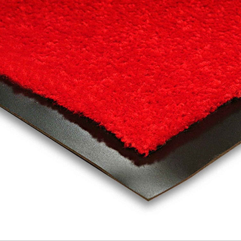 for Indoor and Outdoor Use 40x60cm Highly Absorbent Non Slip Mat Brown Mono etm Dirt Trapper Door Mat