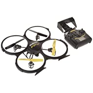 UDI RC U818A HD+ 2.4GHz 4 CH 6 Axis Gyro RC Quadcopter with HD Camera RTF, Extra Battery