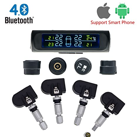 Amazon.com: Bluetooth Energía Solar TPMS sistema de control ...