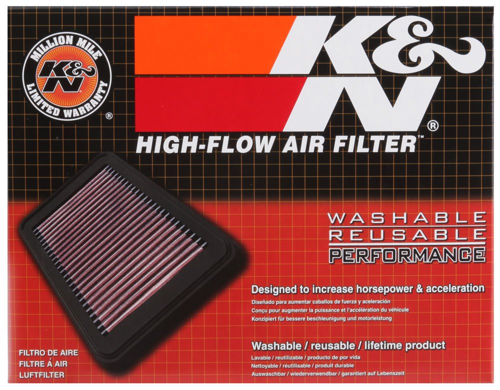 33-5007 washable and reusable: 2012-2019 Chevy//Buick//Opel//Vauxhall K/&N engine air filter Trax, Encore, Mokka