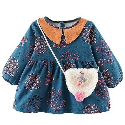 4bcf9227ff6ea 葉 果物 花柄 プリント フリル 袖 プリンセススカートドレス+ヘアバンドセット かわいい ワンピース