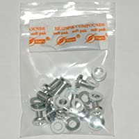 XBOX 360 Hardware Repair Kit 1 Complete Screw Washer Set for X-clamp Replacement with XBRdepot Stars 900 Thermal Compound & Complimentary Deluxe Instructional e-Manual