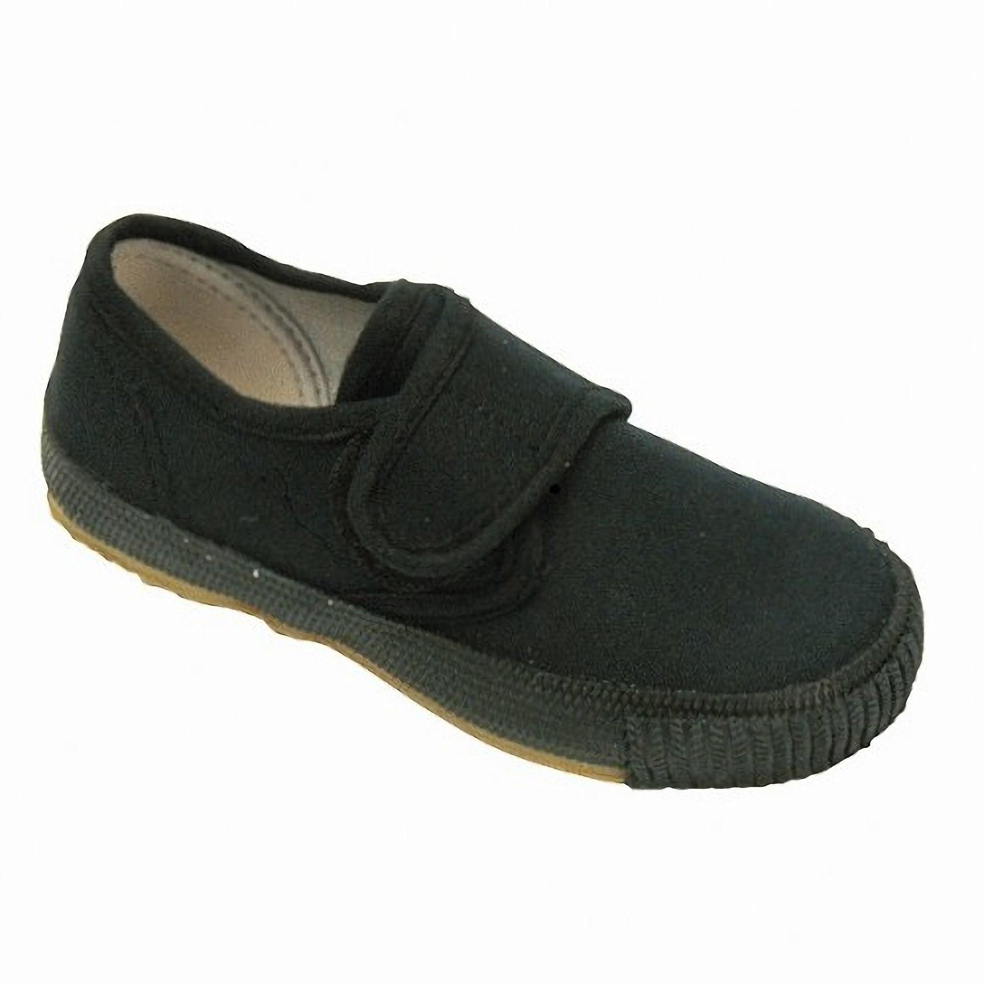 Mirak CSG/99248 Little Boys Plimsolls/Trainers/Gym Shoes (11 US Junior) (Black)
