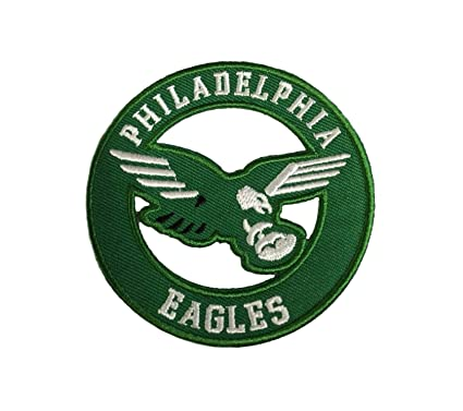 san francisco f2918 815fb Philadelphia Eagles Vintage Embroidered Iron on Logo Patch 3x3