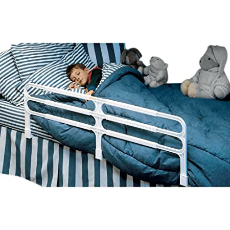 Amazon.com: Primo ajustable cama guardia Rail (Blanco ...