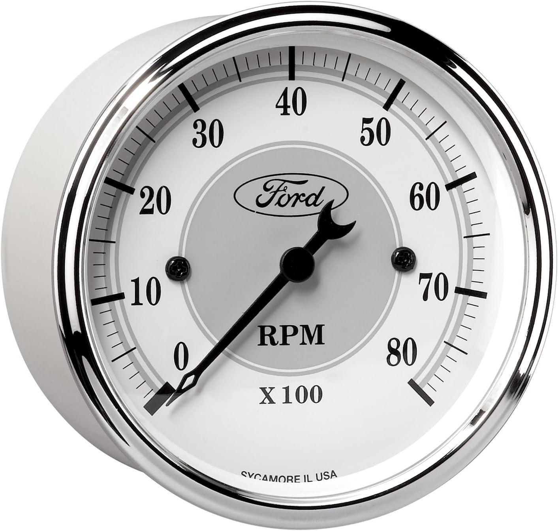 Auto Meter 880087 Ford Racing Series 5 Gauge Set Kit Box