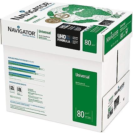 Navigator Universal - Papel multiusos para impresora - 2500 hojas ...