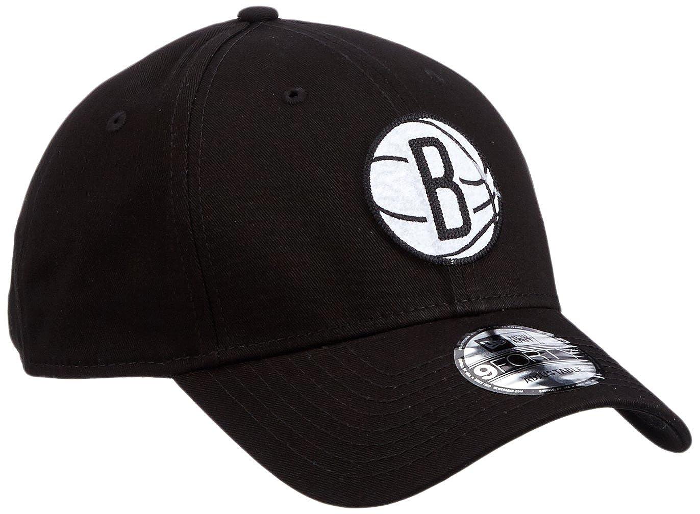 A NEW ERA Era Felt Infill 940 Bronet Blkwhi Gorra Brooklyn Nets ...