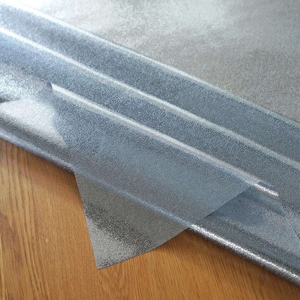 Tischmatte mattes Plastik weiches Glas wasserdichte Tischdecke , PVC-Kaffee-Matte , 1 , Tischdecke 100120cm 851c00