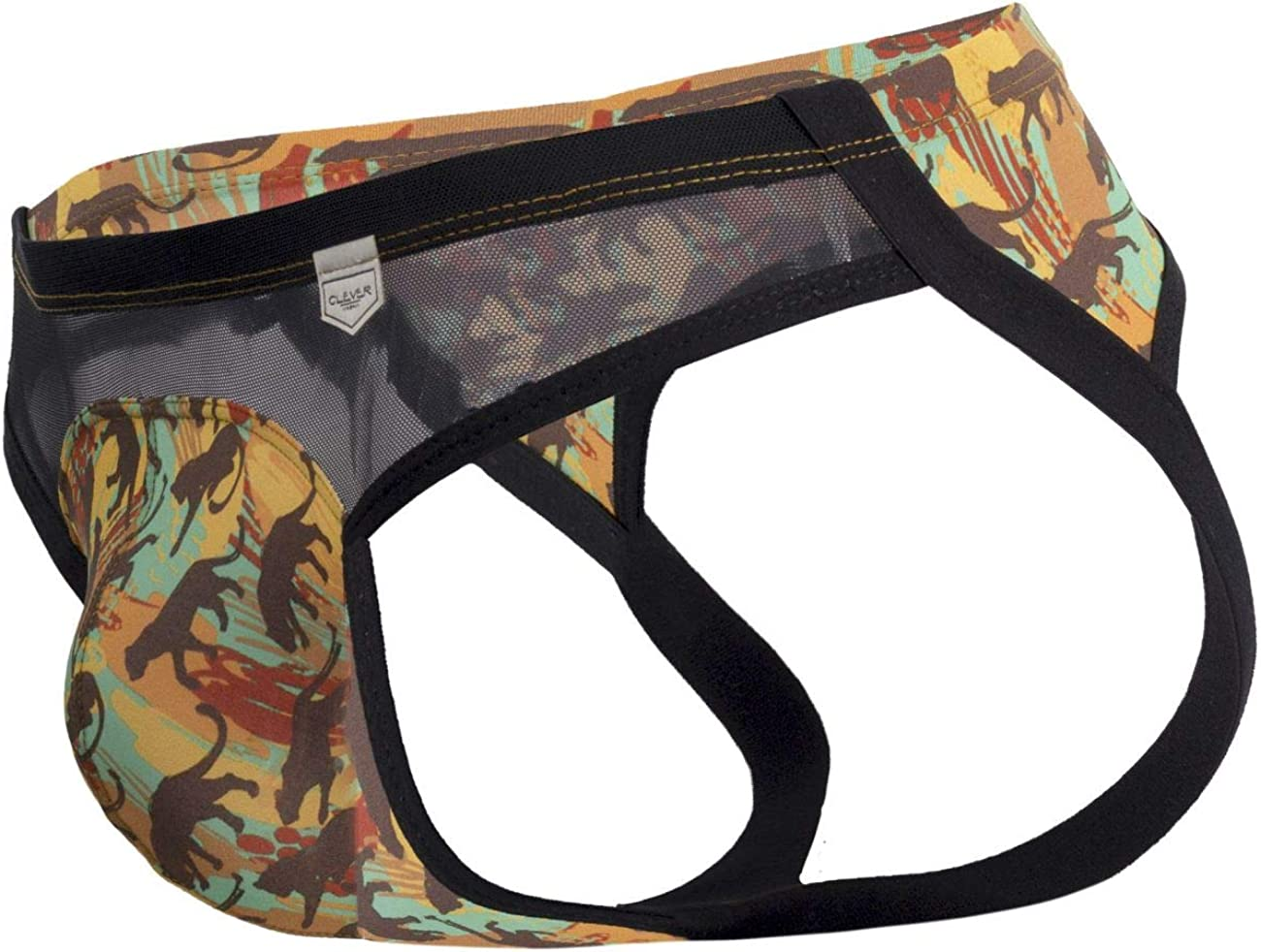 Clever Moda Mens No Y-Front Thong
